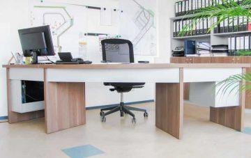 Bürobau - Schreibtisch